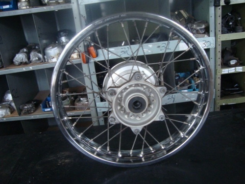 3134 - roda traseira original bros 150 - 2009 a 2013