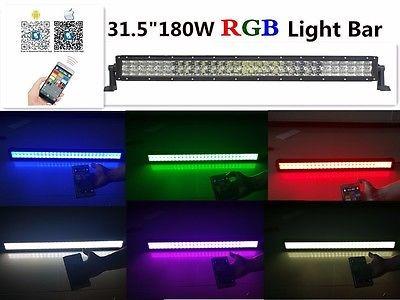 315 180w 5d lente cree led rgb light bar combo haz de luz 6141 315 180w 5d lente cree led rgb light bar combo haz de luz aloadofball Images
