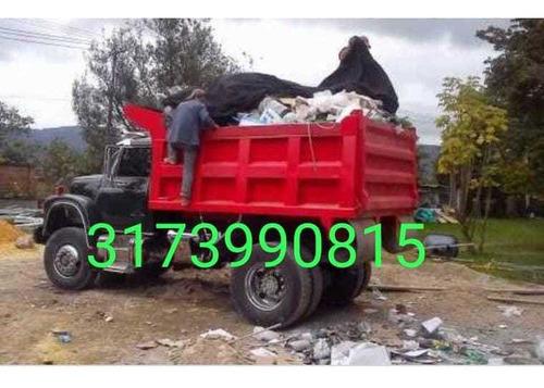 3173990815 retiro de escombros servicio de volqueta mixto ar