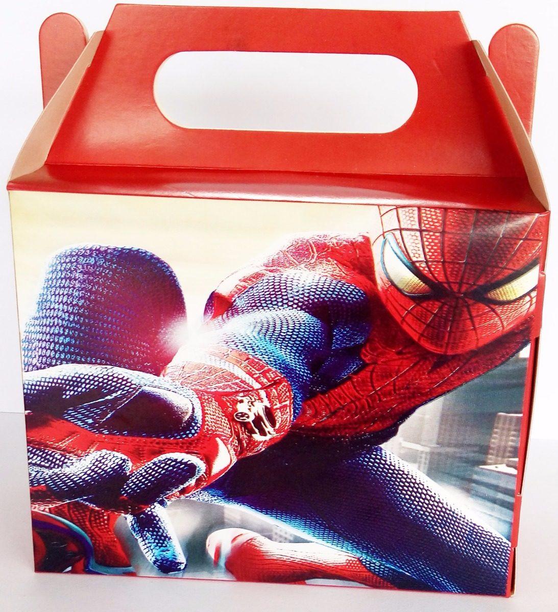 2381876a65 32 caixinha surpresa lembrancinha tema homem aranha. Carregando zoom.