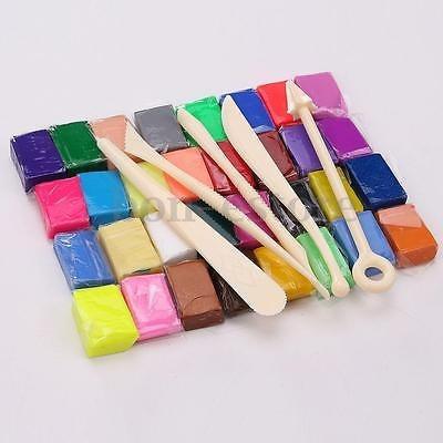 32 color bloque de arcilla de polímero horno hornear...