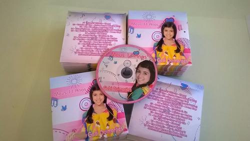 32 dvds + envelopes personalizados + lacre + duplicação