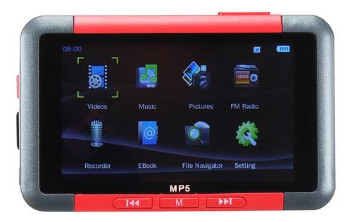 32 gb 3.0 tela lcd vídeo música fm mp3 mp5 mp4 player gravad
