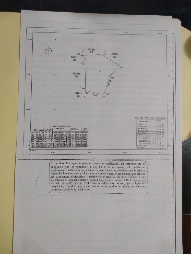 32 hectarias parcelarias villa unión