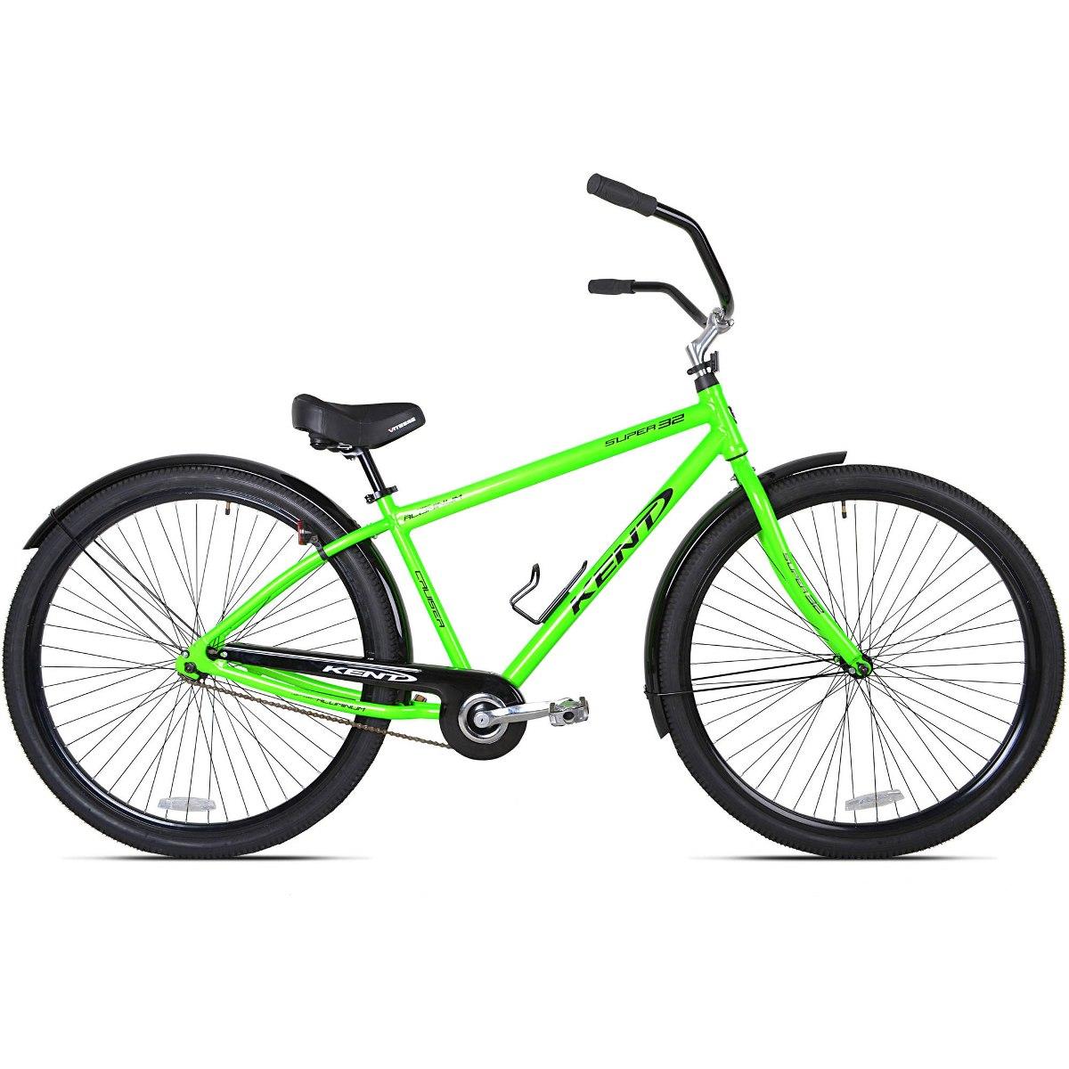 32 Kent Super 32 Bici Del Crucero De Playa Unisex, Verde - $ 1.240 ...