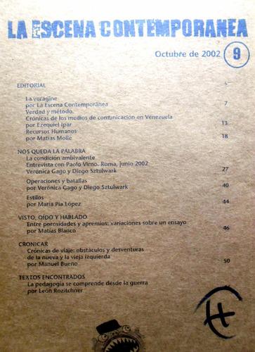 #32. la escena contemporánea - octubre de 2002