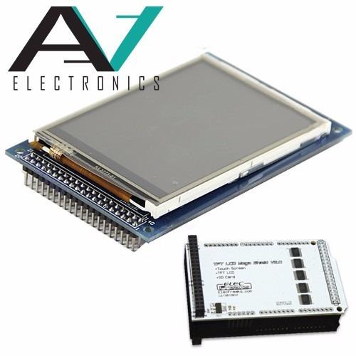 3.2'' tft lcd screen touch arduino mega