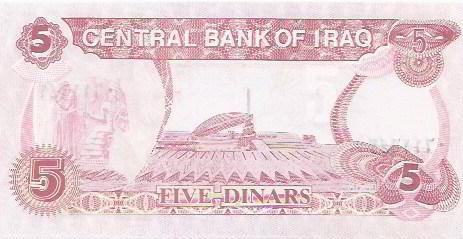 320 - cédula estrangeira - iraque
