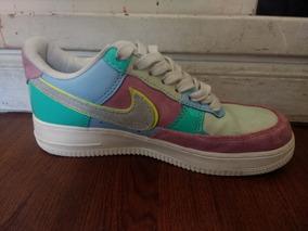 $3200 Nike Air Force Low Easter Original Colores Pastel 37.5