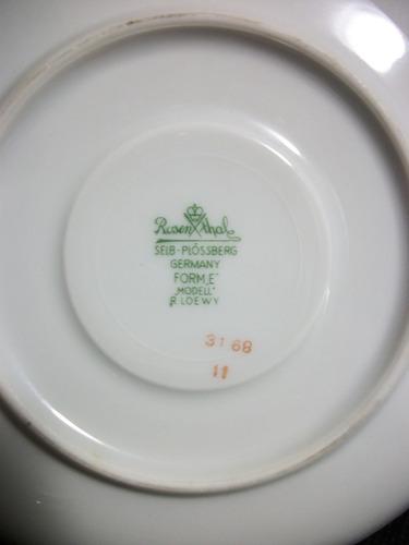 3202 - pires alemão rosenthal déc 70  porcelana