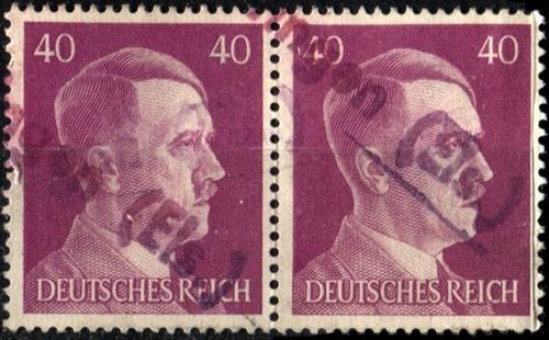 3269 alemania 3er reich par hz 40pf usado 1941