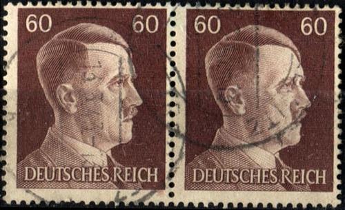 3270 alemania 3er reich par hz 60pf usado 1941
