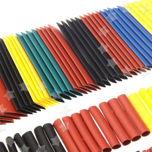 Cable Eléctrico Coche Calor Shrink Tubo Tubo abrigo mangas Color Surtidos 5 328 un