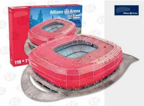 3298 estadio allianz arena bayern munich 119 piezas nanostad