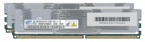 32gb de ram 8x4 gb para macpro 1.1 y 1.2 ddr2 667 mhz