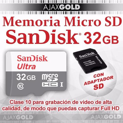 32gb sandisk memoria micro