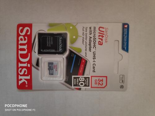 32gb sandisk micro cartão memória