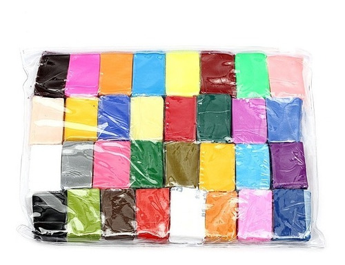 32pcs colorful fimo polymer modelling soft clay craft diy to