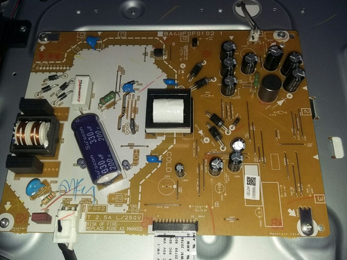 32pfl4509  F8 Philips X Partes