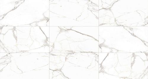 32x60 carrara calacata brillante rectificado 1ª alabaster tz