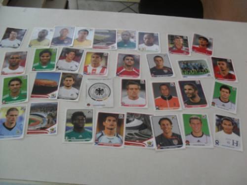 33 figurinhas da copa de 2010