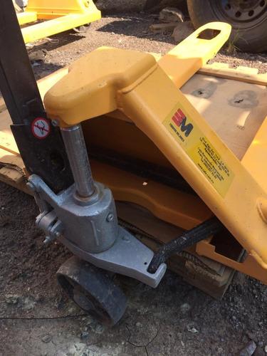 33) patin hidraulico montacargas xilin 2.5 ton nuevo