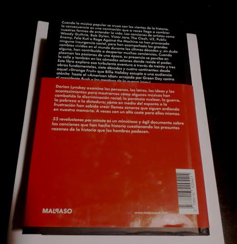 33 revoluciones por minuto - dorian lynskey - libro