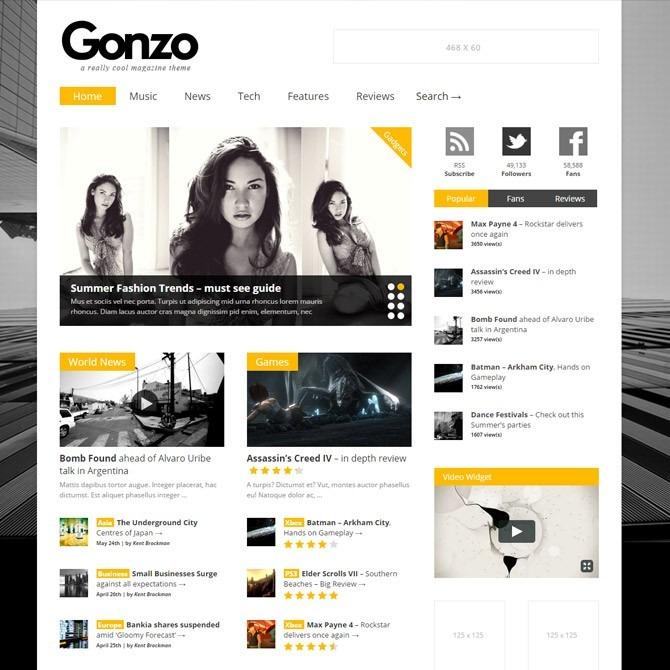 33 Temas Wordpress Para Blogs E Portal De Notícias - R$ 39,90 em ...