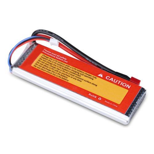 3300mah 7.4v 35c 2s1p li-po rc batería decanos para coche rc