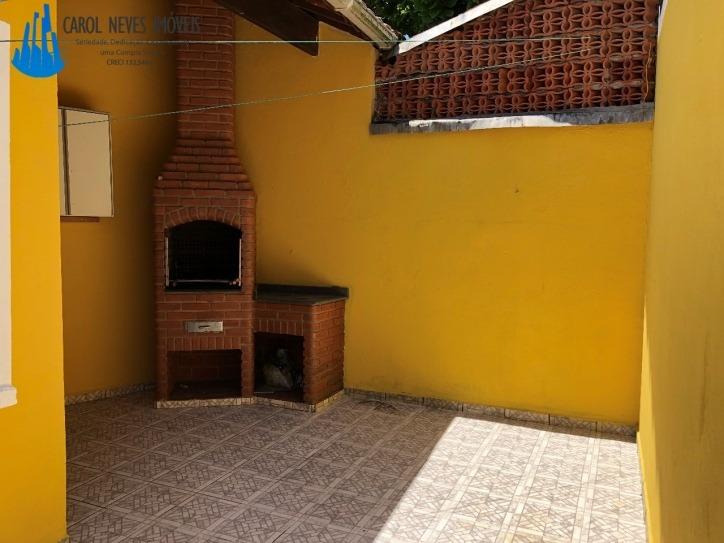 3302- casa 3 dormitórios 150 metros da praia - mongagua