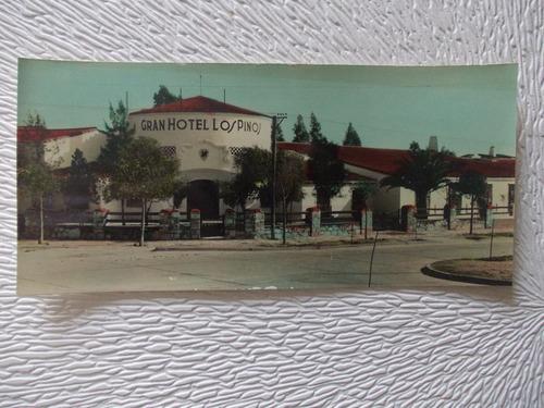 3349- postal antigua hotel los pinos, rio hondo, sgo. estero