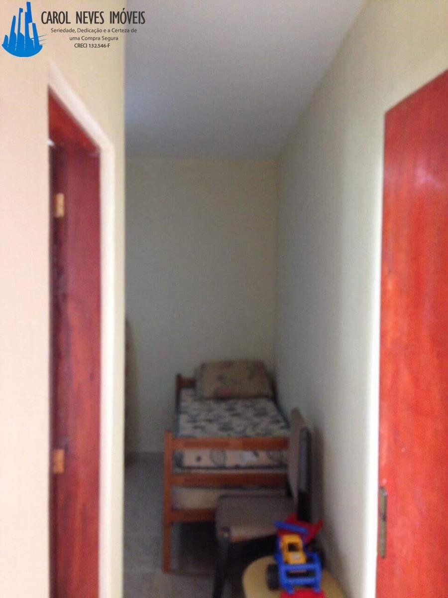 3396 -  casa 2 dormitórios com espaço amplo para piscina