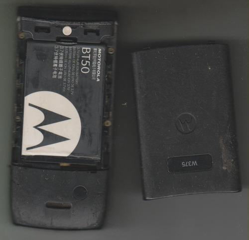 34 - celular motorola w375 para retirada de peças r$ 20,00