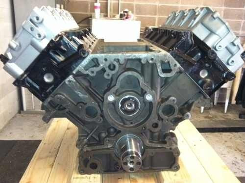 3/4 de motor 6.0 power stroke reparado