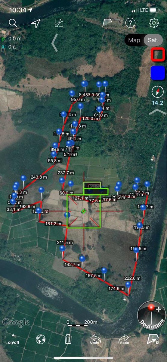 34 hectáreas junto al río daule