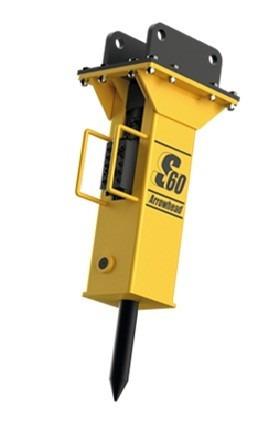 34) martillo hidraulico ingles s60 retroexcavadora garantia