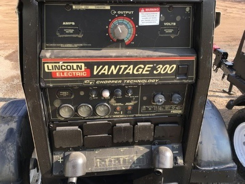 34) soldadora lincoln vantage 300 amp 10 kw 2006