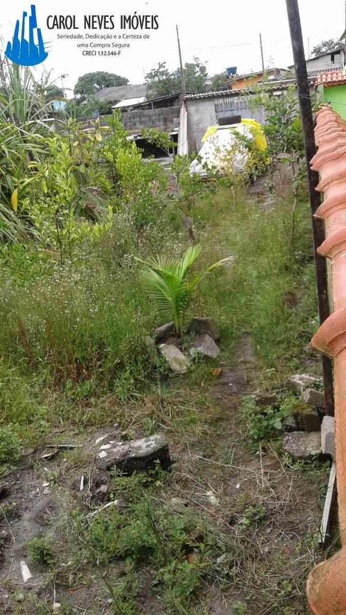 3400-terreno guia e sarjeta meio lote mongaguá