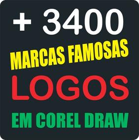 f0a6f54ba Logos Famosos/ Logotipos Famosos - Informática no Mercado Livre Brasil