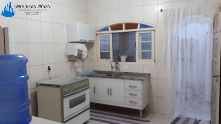 3404 -linda casa 2 dormitórios 550 metros do mar