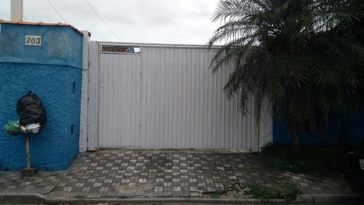 3414 - linda casa mobiliada com piscina e churrasqueira