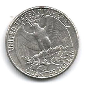 342 Dmd- Moeda 1980- Usa Dolar- Quarter Dollar
