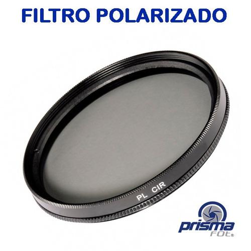 343 filtro polarizado de 58mm 58mm / lente, canon, nikon uv