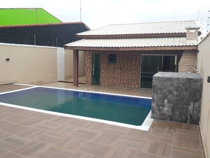 3463- casa lote inteiro lado praia com piscina