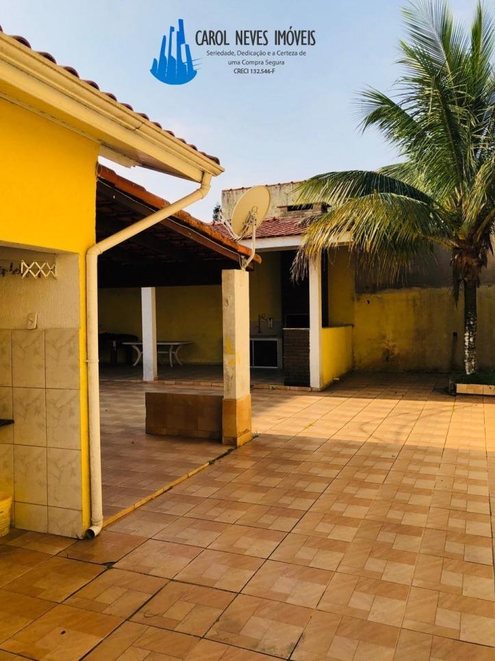 3471-casa mongaguá, 02 dormitórios, churrasqueira