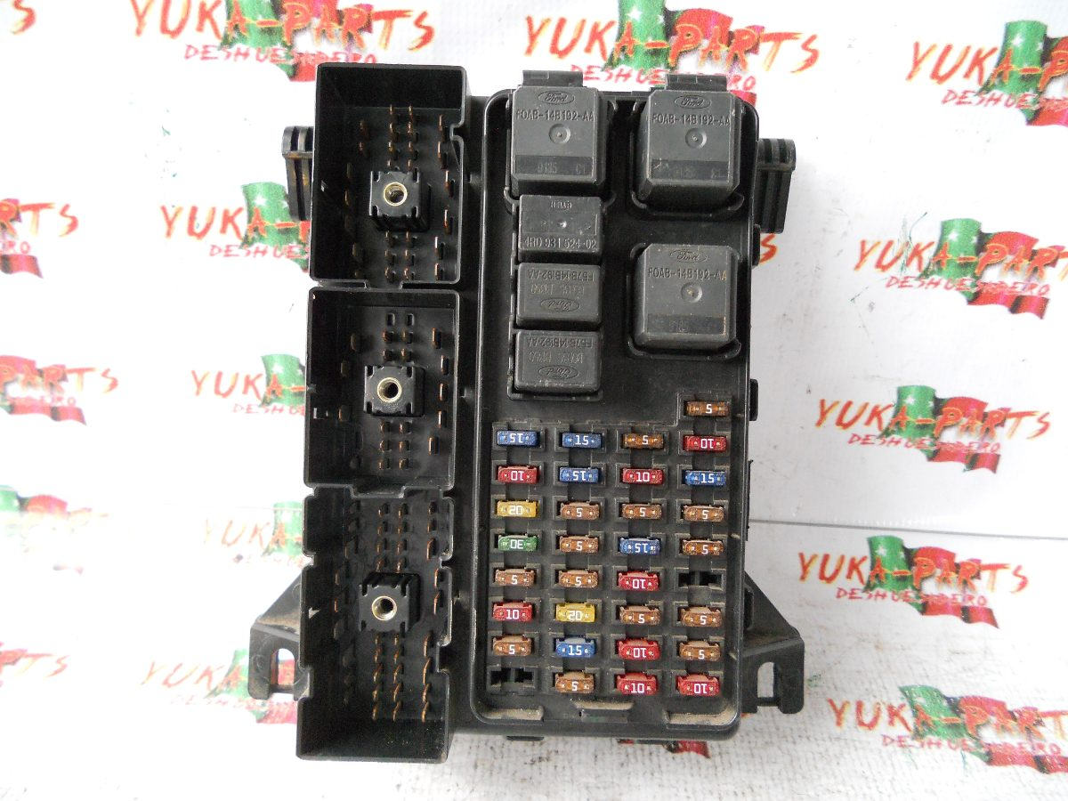 fuse box diagram 98 contour 1998 ford ranger fuse diagram