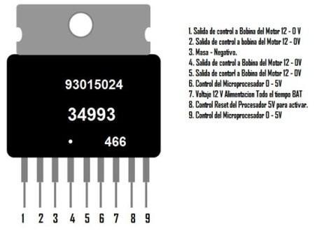34993 integrado para reparar ecu de corsa y otras