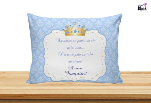 35 almofadas personalizadas 20x30 lembrancinha maternidade