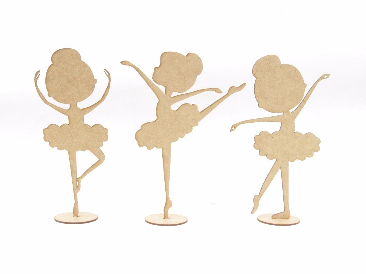 d08d236787 35 bailarinas infantil em mdf cru 25cm lembrancinhas festas. Carregando  zoom.