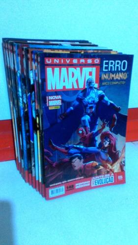 35 hqs nova marvel- universo marvel nºs 01 ao 35 completos!!